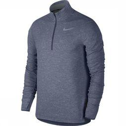 Nike Trui Sphere Element Top HZ 2.0 Middenblauw