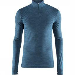 Craft Trui Fuse Knit Comfort Zip M Petrol