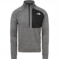 The North Face Pull Ambition 1/4 Zip Mid-Layer Gris Clair
