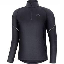 Gore Wear Pullover M Mid Long Sleeve Zip black