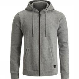 Bjorn Borg Pullover BBcentre Hoodie light grey