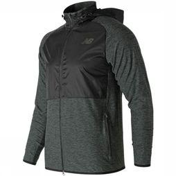 New Balance Pullover Anticipate Black/Dark Grey Mixture