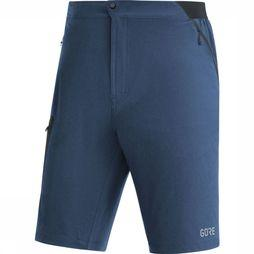 Gore Wear Short R5 Marineblauw