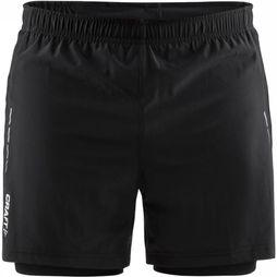 Craft Short Essential 2-In-1 Noir Moyen