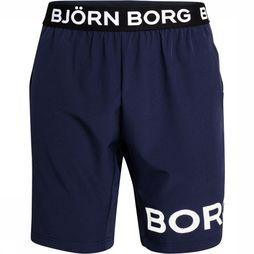 "Bjorn Borg Shorts August 9"" Marine"