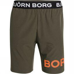 "Bjorn Borg Shorts August 9"" mid khaki"