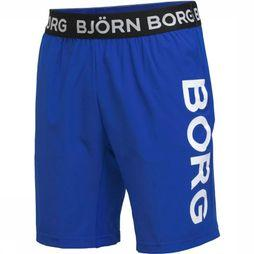 "Bjorn Borg Shorts August 9"" royal blue/mid green"