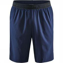 Craft Short Core Essence Relaxed Donkerblauw