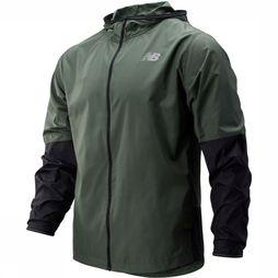 New Balance Coat Velocity green
