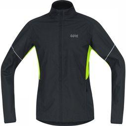 Gore Wear Windstopper R3 Partial Gws Zwart/Geel