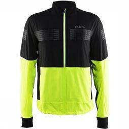 Craft Windstopper Brilliant 2.0 Light Jacket M Geel/Zwart