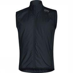 Gore Running Wear Windstopper Essential Gws Insulated Vest Zwart