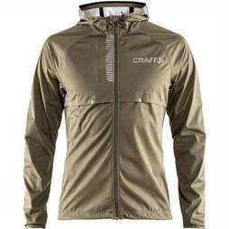 Craft Windstopper Repel Jkt M Middenkaki