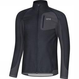 Gore Wear Windstopper R Partial Zwart/Donkergrijs