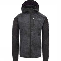 The North Face Coupe-Vent Ambition Wind Gris Foncé Mélange