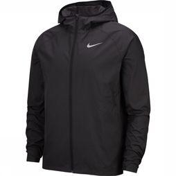 Nike Windstopper Essential Hooded Running Zwart