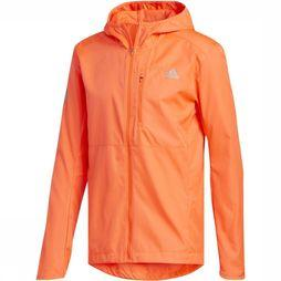 Adidas Windstopper Own The Run Jkt red
