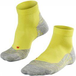 Falke Sock RU4 Short dark yellow/dark grey
