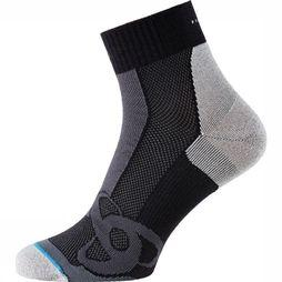 Odlo Sock Short Running black/mid grey