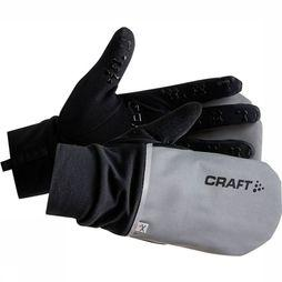 Craft Handschoen Hybrid Weather Argent/Noir