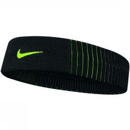 Nike Equipment Haarband Nike Dri-Fit Reveal Zwart/Geel