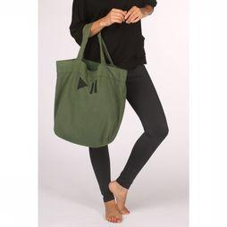 PlayPauze Sport Bag Camel Tote mid green