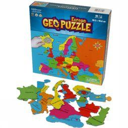 Geopuzzle Europe 58 Pièces (Fr) 483 X 406 Mm
