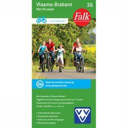 Flemish Brabant 36 Cycle Map
