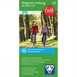 Belgisch Limburg 33 Cycle Map