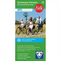 Antwerpse Kempen 32 Cycle Map