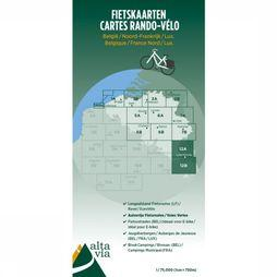 ALTA VIA Luxemburg & Moezel Cycle Map 2017