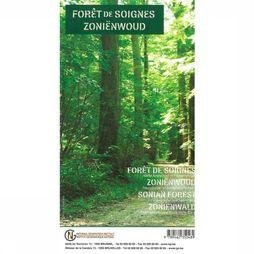 NGI Sonian Forest Topographic And Tourist Map 2016