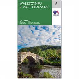 Ordnance Survey Wales / Midlands West 6 2016