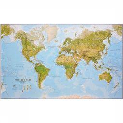 Maps International World environmental wall map laminated 2018