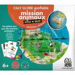 Stick N Quiz 42 Mission Animaux Caly Toys