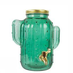 Fisura Keukengerei Cactus Green Glass Dispenser Groen