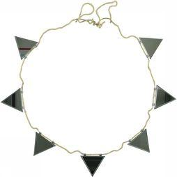 Yaya Home Mirror Garland Triangle Small Zilver