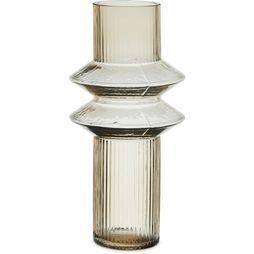 Yaya Home Vaas Tower - Large Lichtbruin