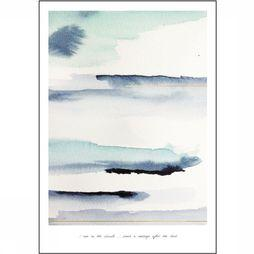 Yaya Home Wenskaarten Single 'I Am In The Clouds' 15X21Cm Blauw