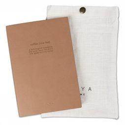 Yaya Home Papierwaren Notebook Coffee Middenbruin