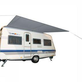 Bo-Camp Voortent Caravanluifel Travel 3,5x2,4 Meter Grijs - Grijs