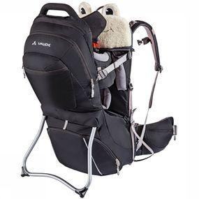 VAUDE Kinderdrager Shuttle Premium - Zwart