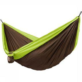 La Siesta Hangmat Travel Double - Groen