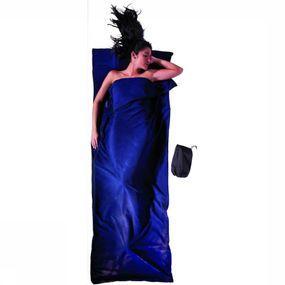 Cocoon Lakenzak Microfleece Blanket & Sleepingbag - Blauw
