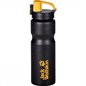 Jack Wolfskin Drinkfles Sport Bottle Grip 0,75 - Zwart