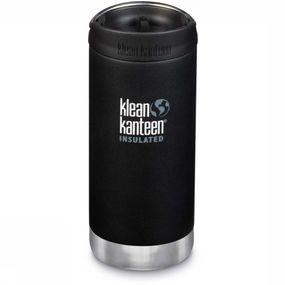 Klean Kanteen Isolatiefles Tk Wide 355ml Cafe Cap - Zwart
