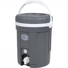 Eda Diverse Water-/sapcontainer Met Kraan 8 Liter - Grijs