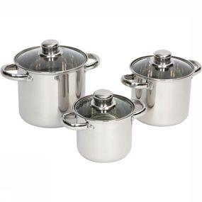 Pot Pannenset Royal Plus 3-Delig Rvs