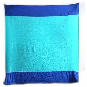 Ticket To The Moon Diverse Beach Blanket - Blauw