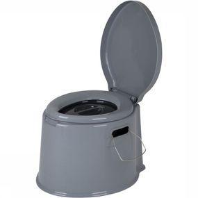 Bo-Camp Diverse Draagbaar Toilet 7 Liter Grijs - Grijs